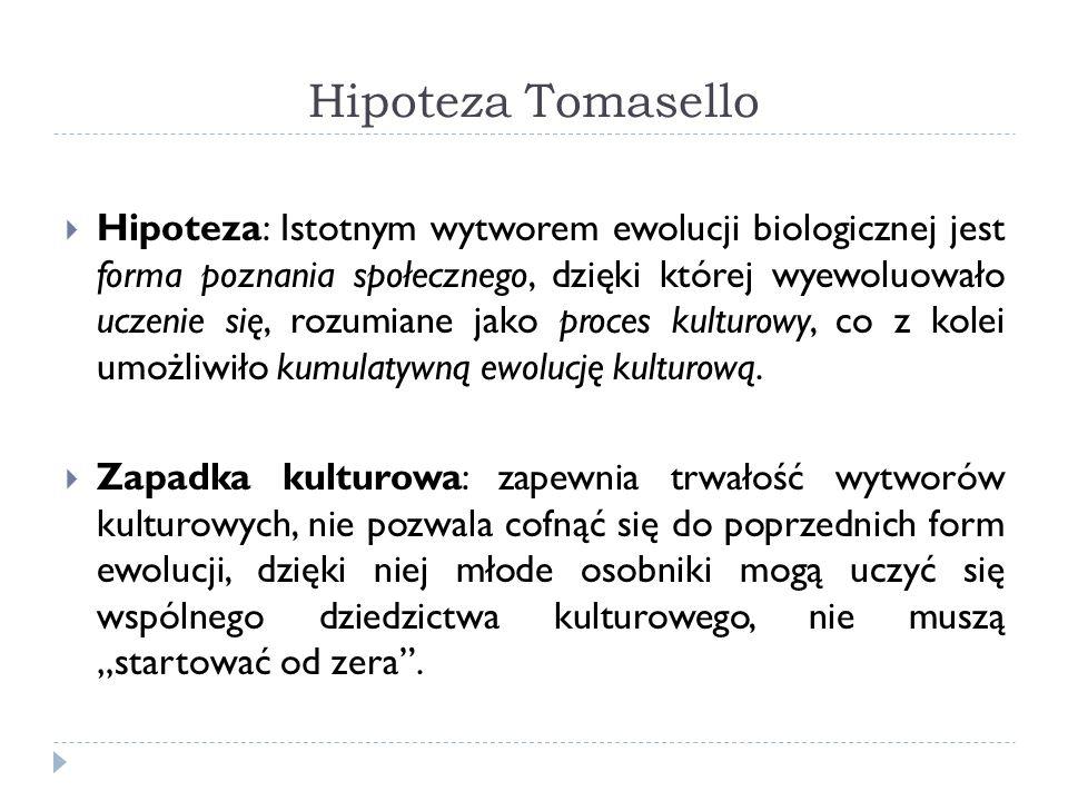 Hipoteza Tomasello