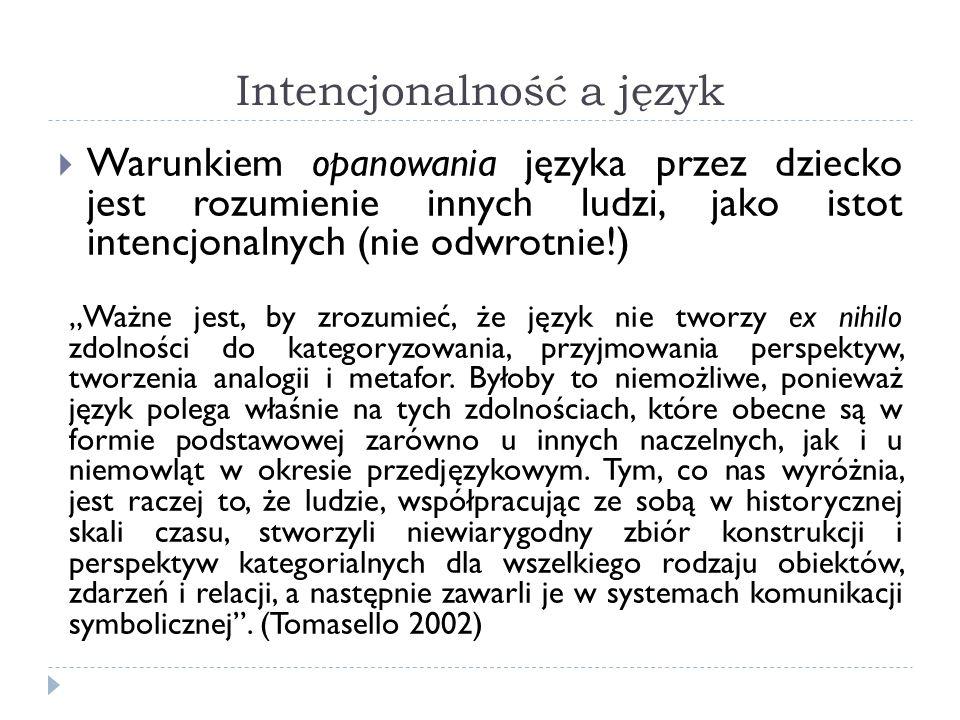 Intencjonalność a język