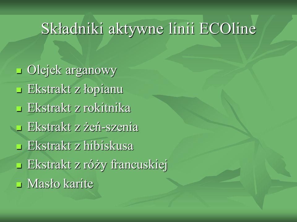 Składniki aktywne linii ECOline