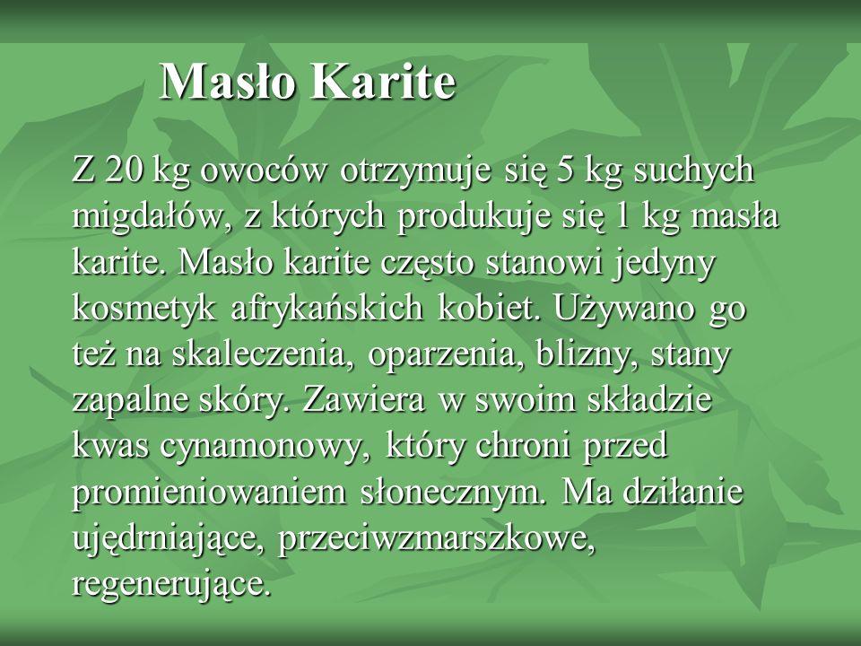 Masło Karite