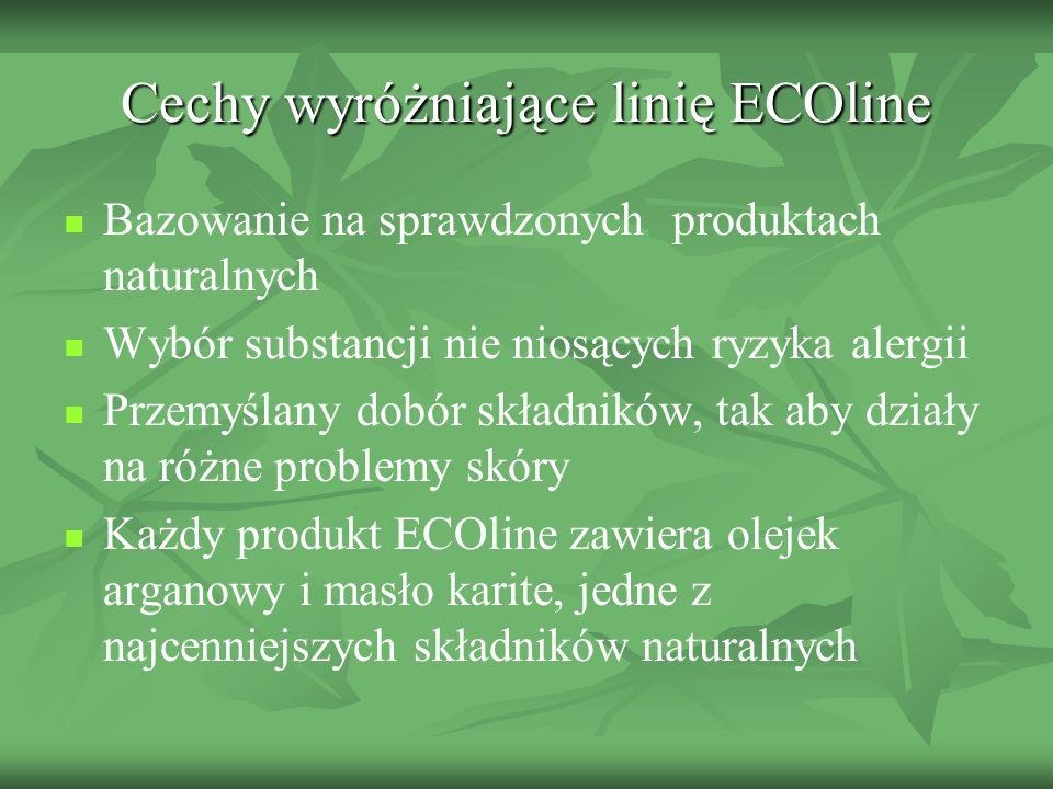 Cechy wyróżniające linię ECOline
