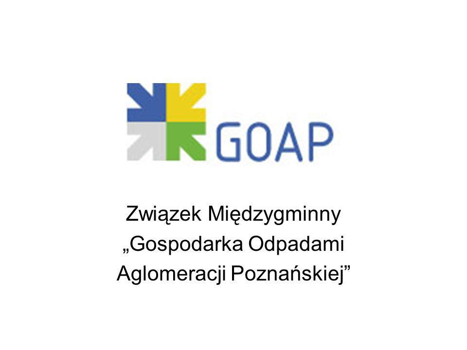"""Związek Międzygminny """"Gospodarka Odpadami Aglomeracji Poznańskiej"""