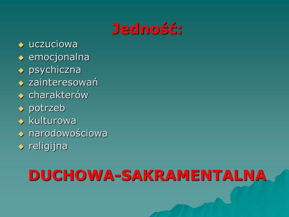 DUCHOWA-SAKRAMENTALNA