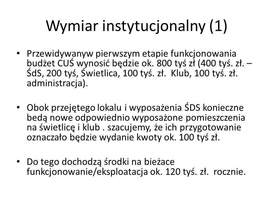 Wymiar instytucjonalny (1)
