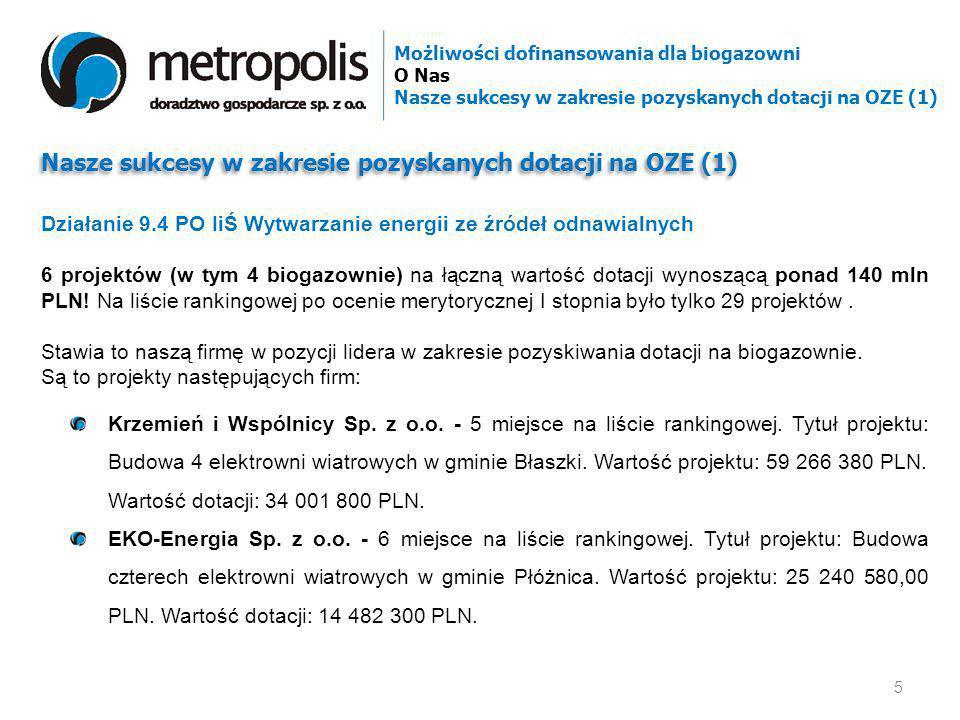 Nasze sukcesy w zakresie pozyskanych dotacji na OZE (1)