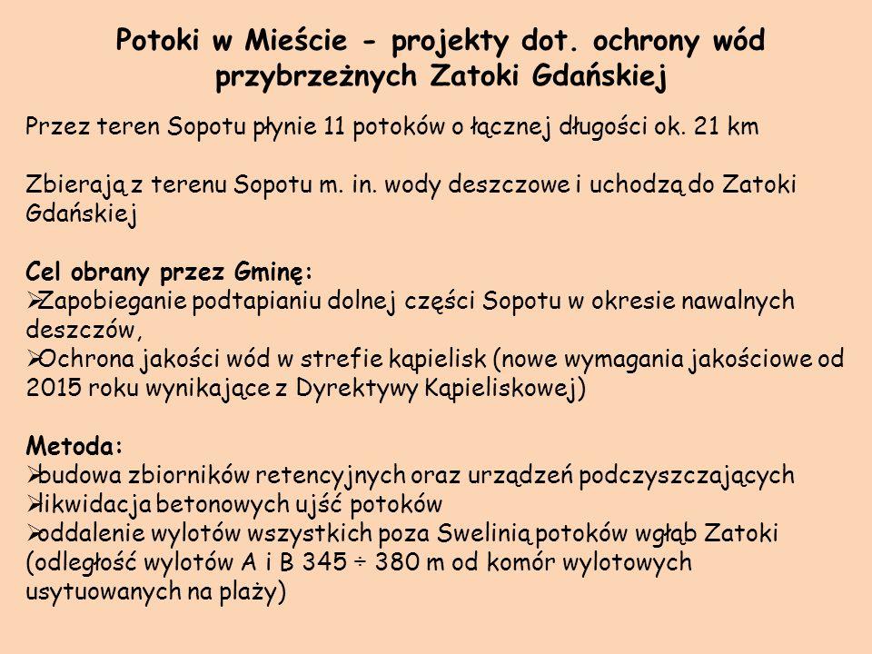 Potoki w Mieście - projekty dot