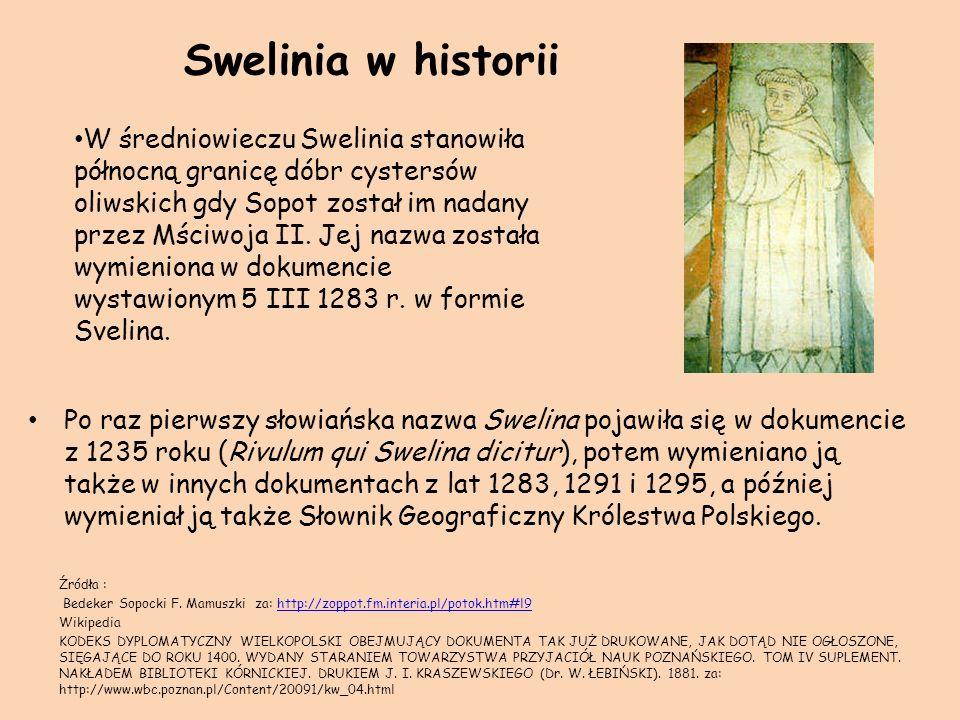 Swelinia w historii