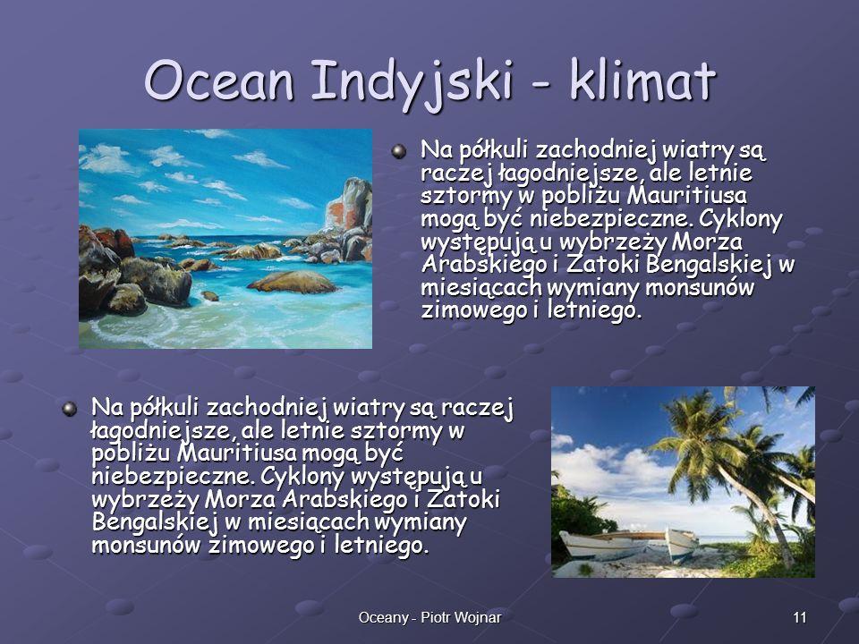 Ocean Indyjski - klimat