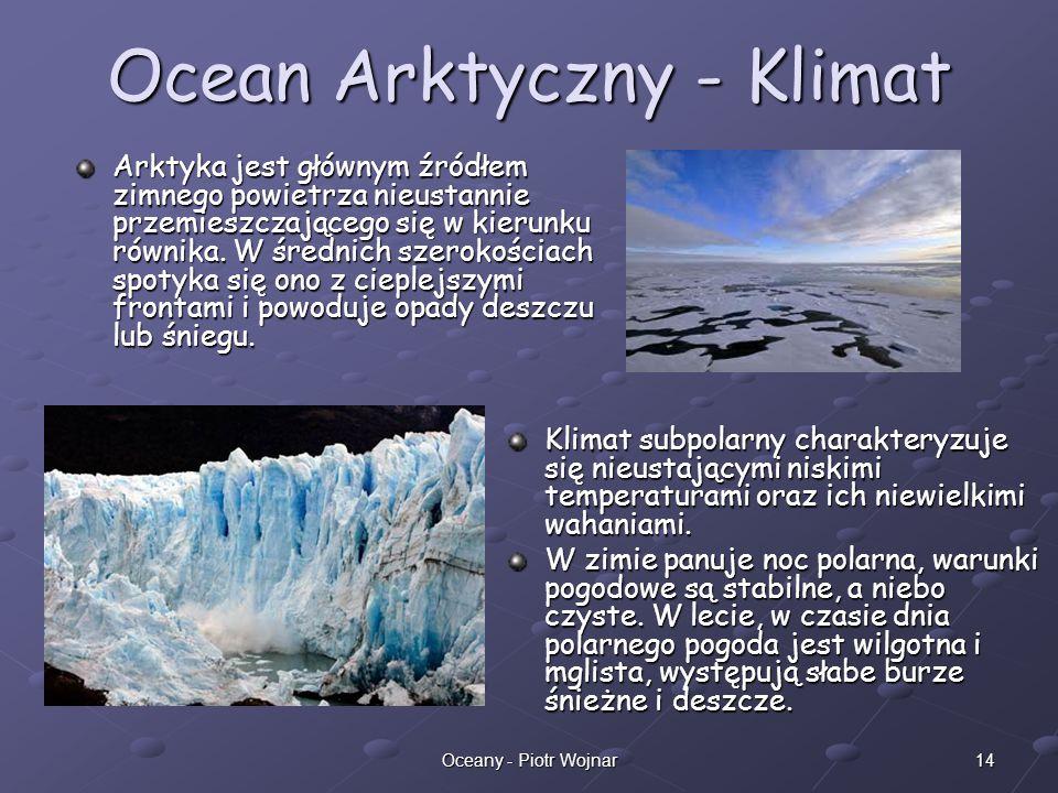 Ocean Arktyczny - Klimat