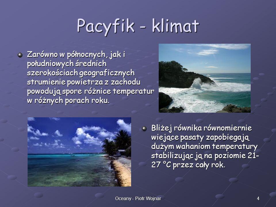 Pacyfik - klimat