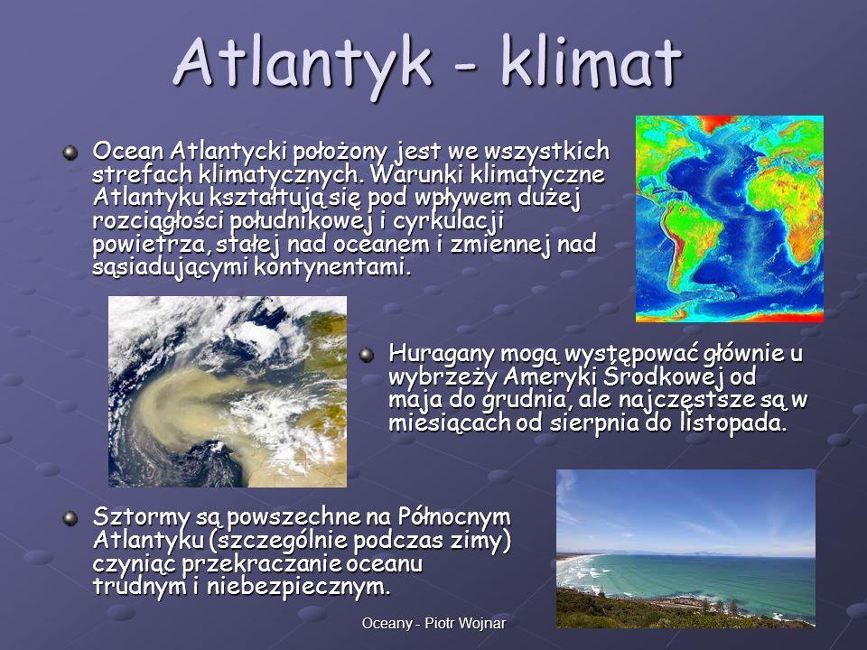 Atlantyk - klimat