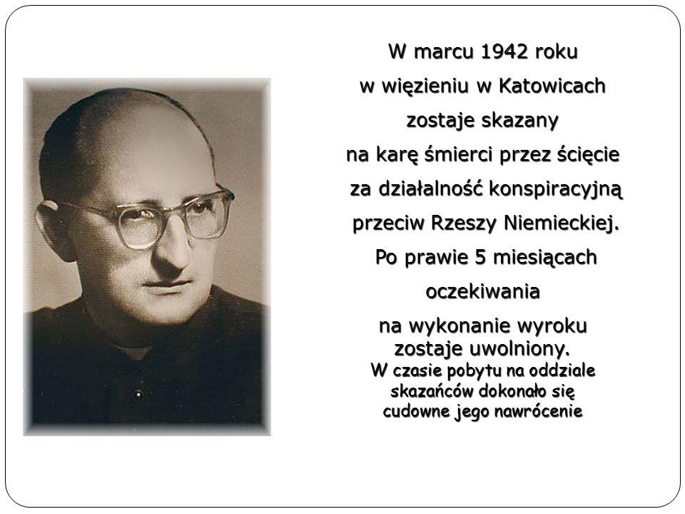 w więzieniu w Katowicach zostaje skazany na karę śmierci przez ścięcie