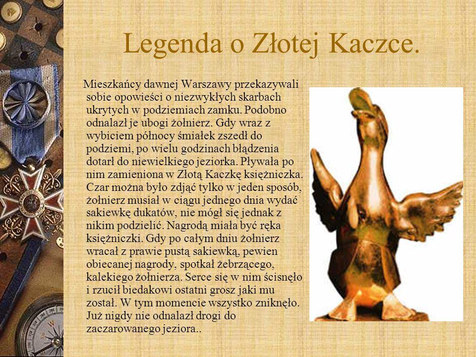 Legenda o Złotej Kaczce.