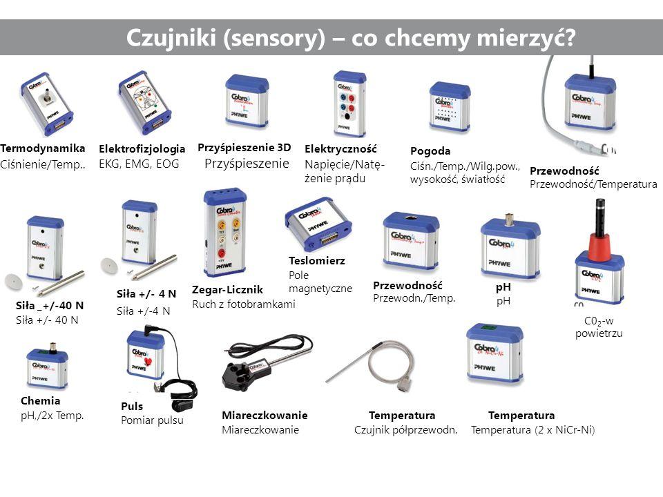 Czujniki (sensory) – co chcemy mierzyć