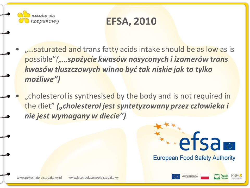 EFSA, 2010
