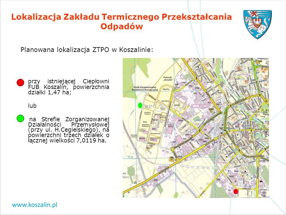 Lokalizacja Zakładu Termicznego Przekształcania Odpadów