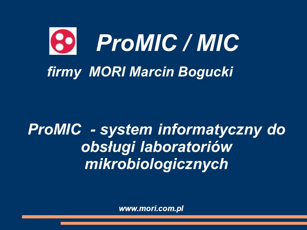firmy MORI Marcin Bogucki