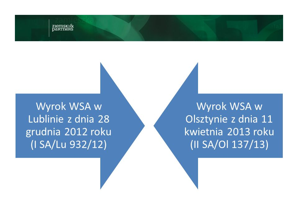 Wyrok WSA w Lublinie z dnia 28 grudnia 2012 roku (I SA/Lu 932/12)