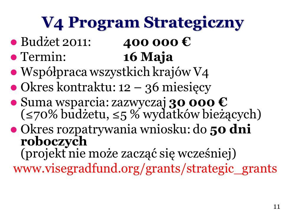 V4 Program Strategiczny