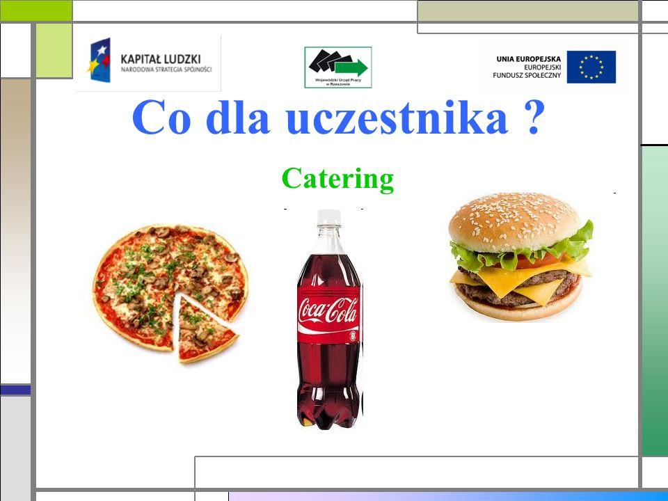 Co dla uczestnika Catering
