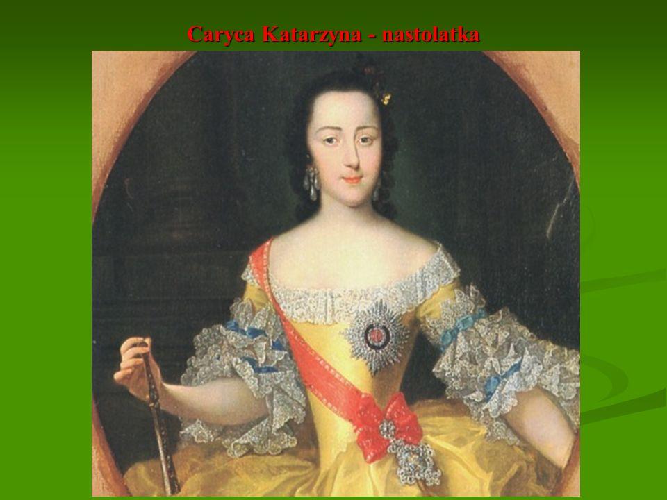 Caryca Katarzyna - nastolatka