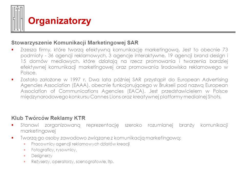 Organizatorzy Stowarzyszenie Komunikacji Marketingowej SAR