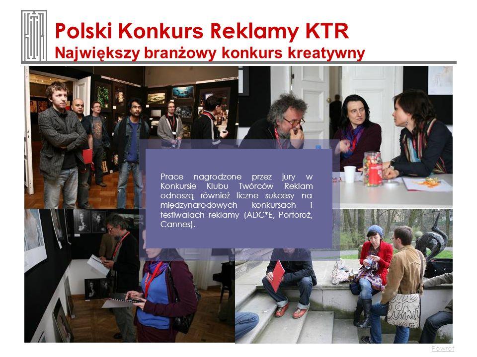 Polski Konkurs Reklamy KTR Największy branżowy konkurs kreatywny