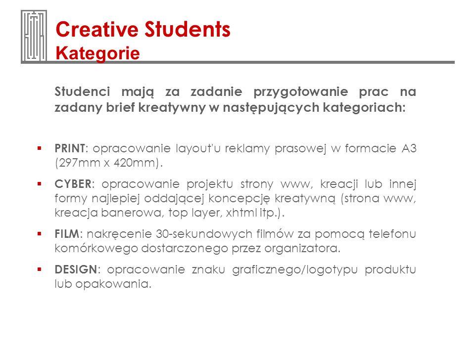 Creative Students Kategorie