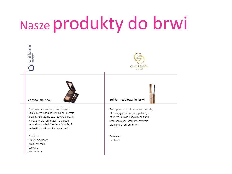 Nasze produkty do brwi Zestaw do brwi Żel do modelowanie brwi