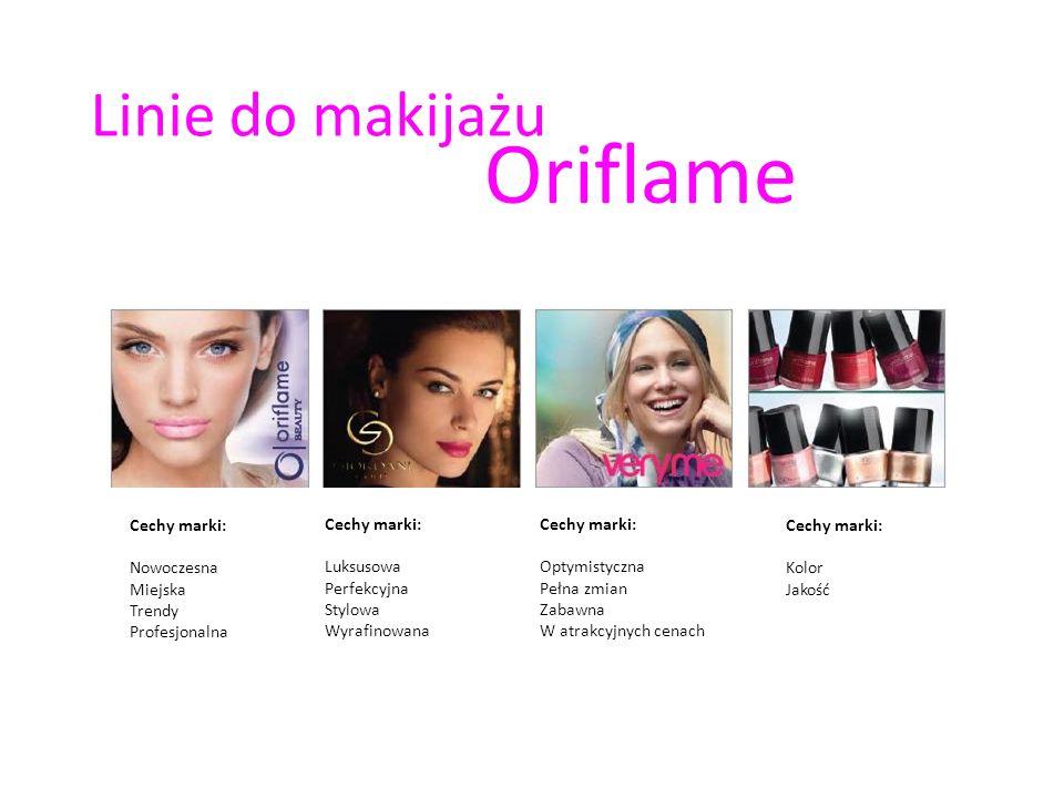 Oriflame Linie do makijażu Cechy marki: Nowoczesna Miejska Trendy