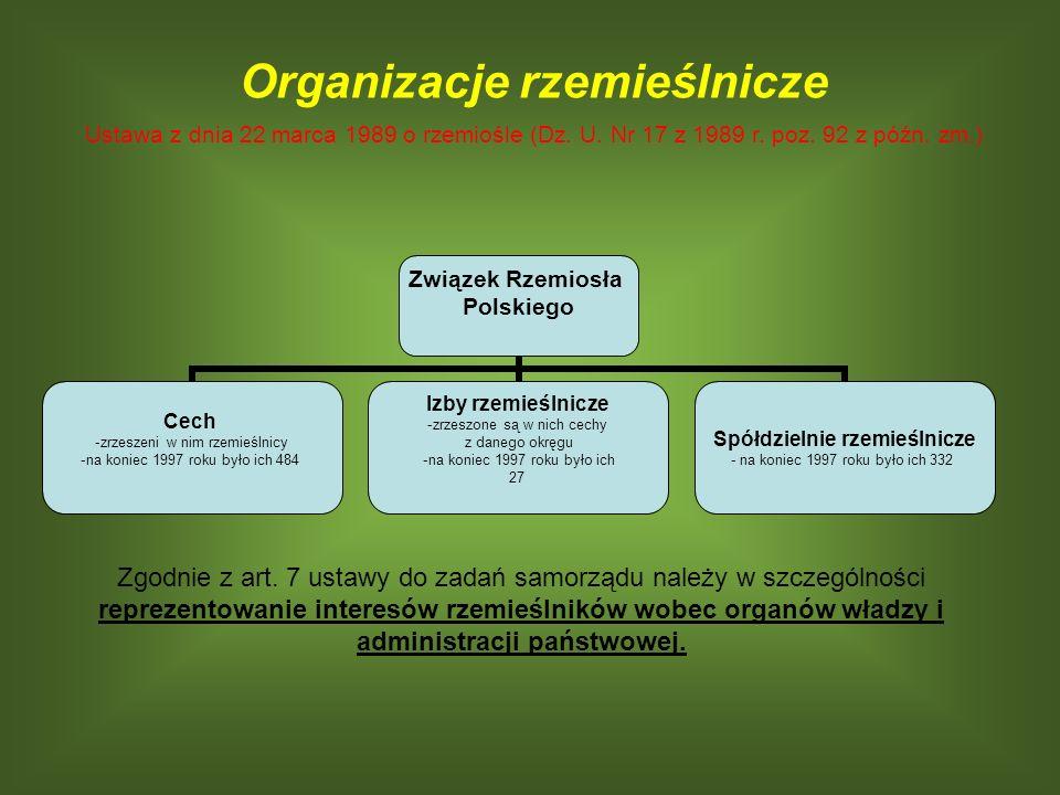 Organizacje rzemieślnicze