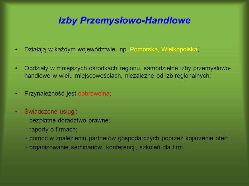 Izby Przemysłowo-Handlowe