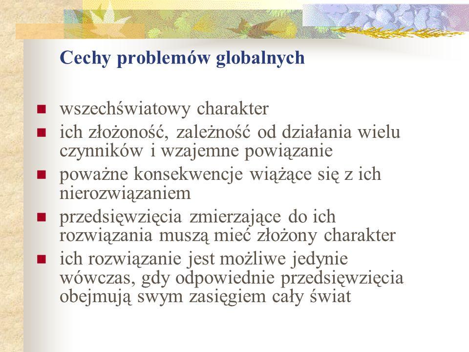Cechy problemów globalnych