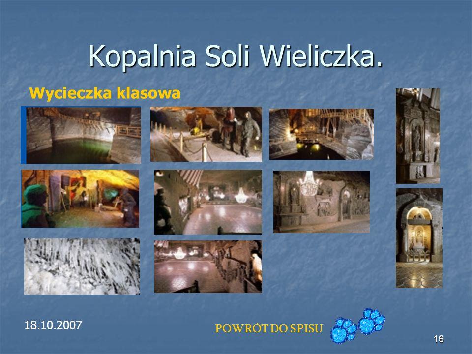 Kopalnia Soli Wieliczka.