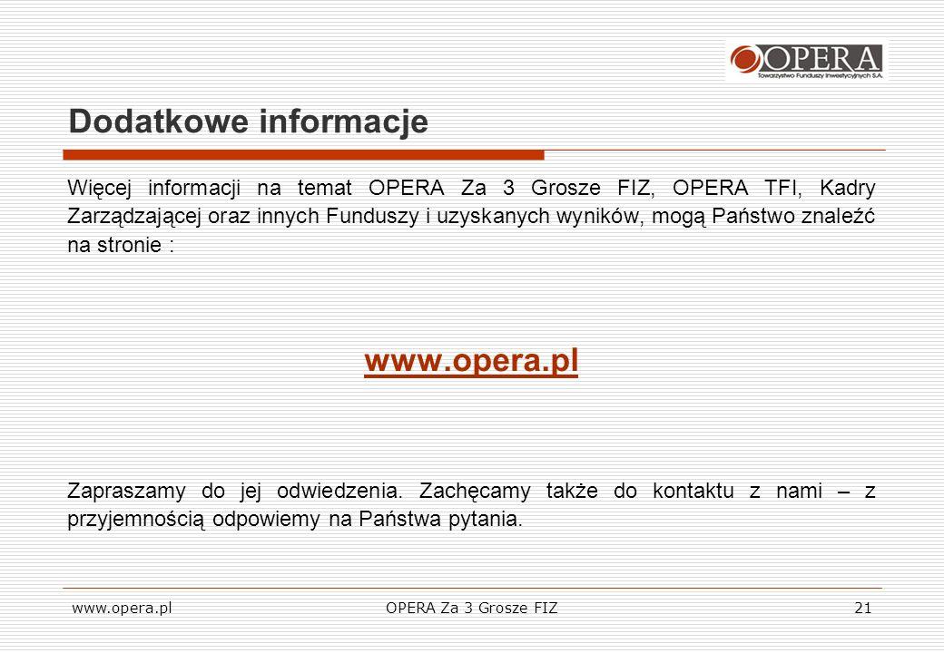 Dodatkowe informacje www.opera.pl