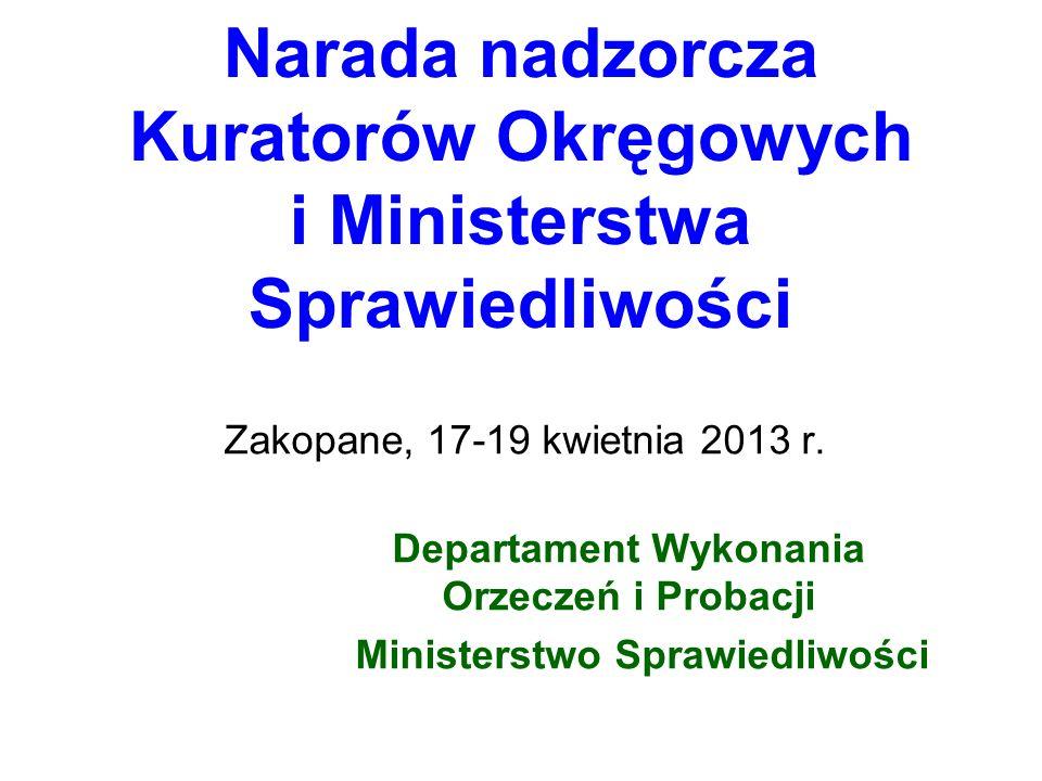Narada nadzorcza Kuratorów Okręgowych i Ministerstwa Sprawiedliwości