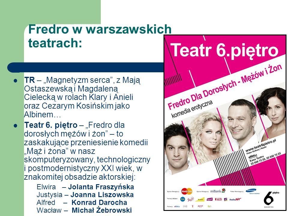 Fredro w warszawskich teatrach: