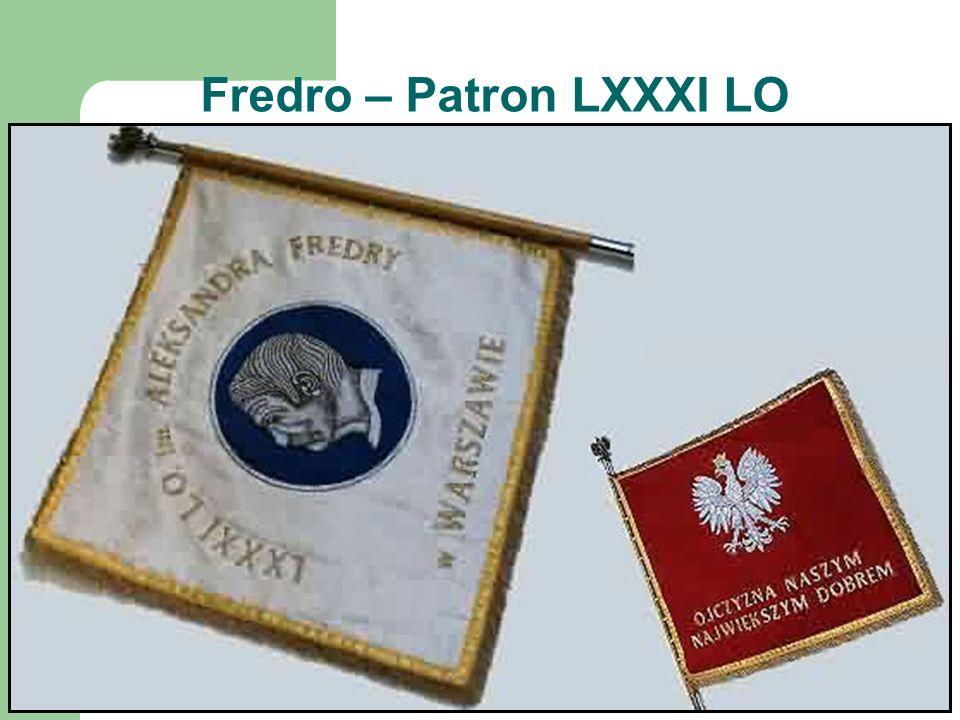 Fredro – Patron LXXXI LO