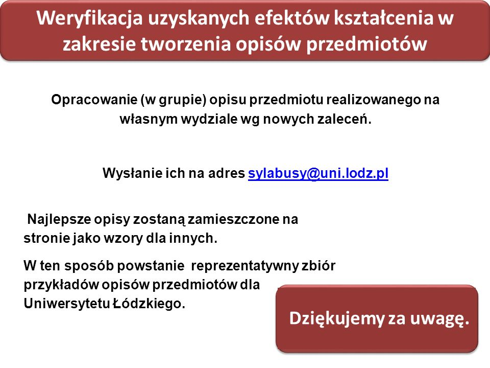 Wysłanie ich na adres sylabusy@uni.lodz.pl