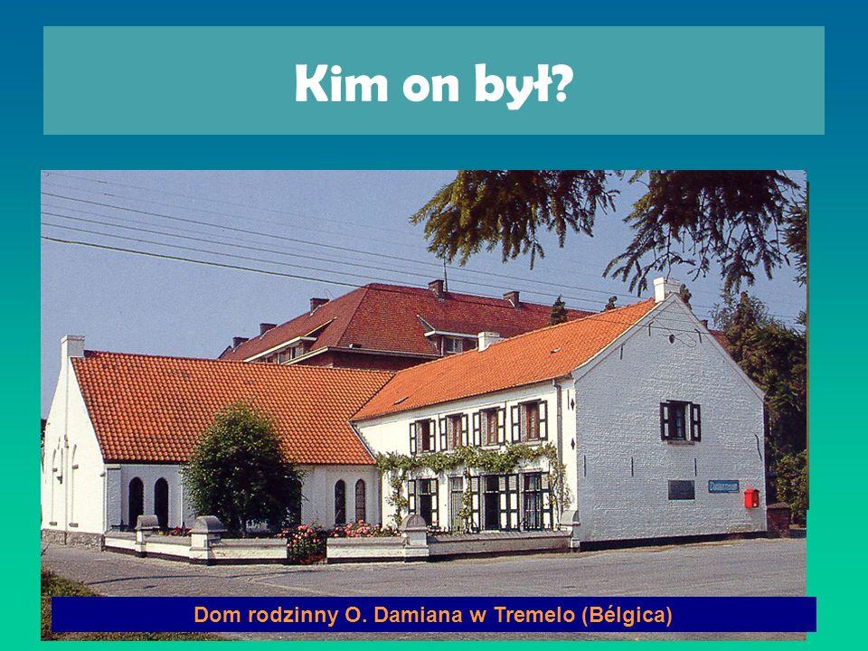 Dom rodzinny O. Damiana w Tremelo (Bélgica)