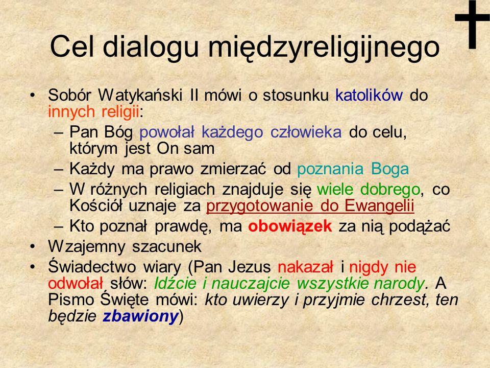 Cel dialogu międzyreligijnego