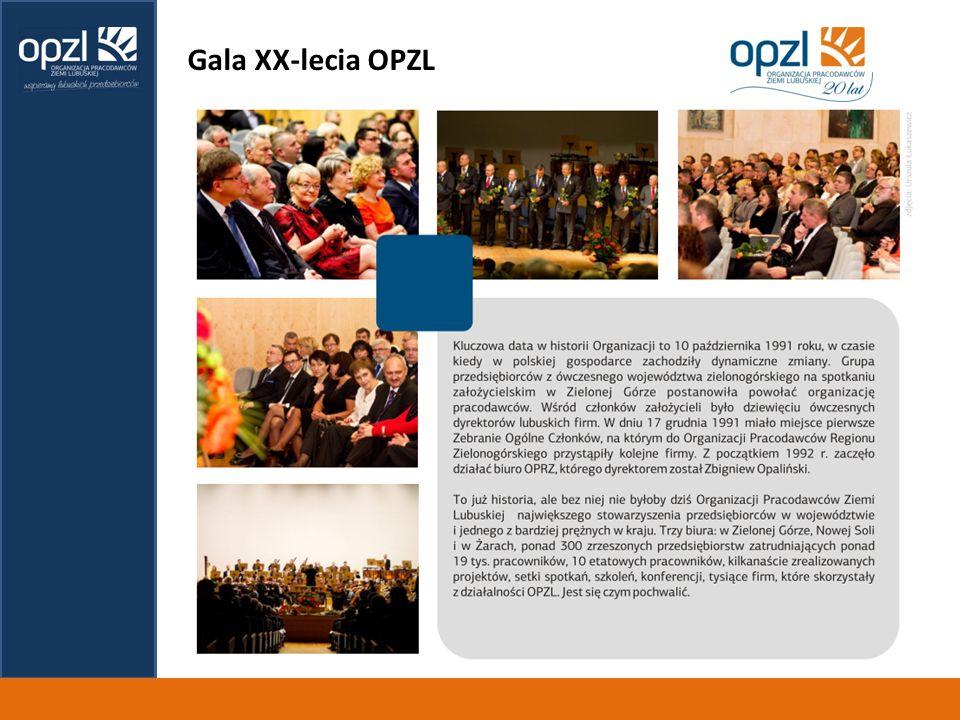 Gala XX-lecia OPZL