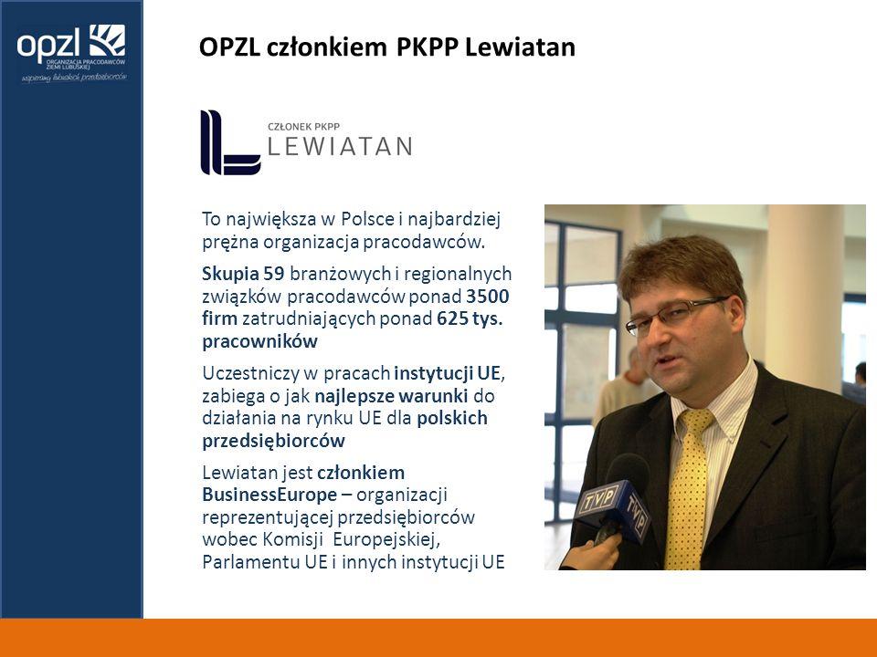 OPZL członkiem PKPP Lewiatan