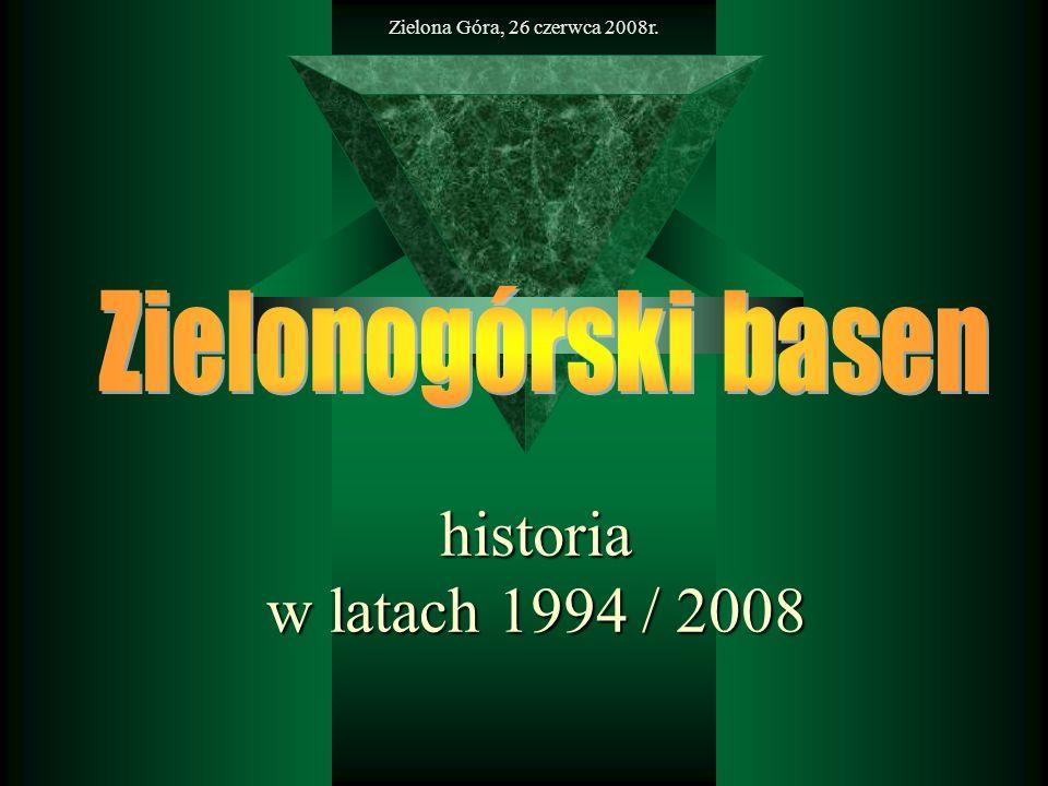 historia w latach 1994 / 2008 Zielonogórski basen