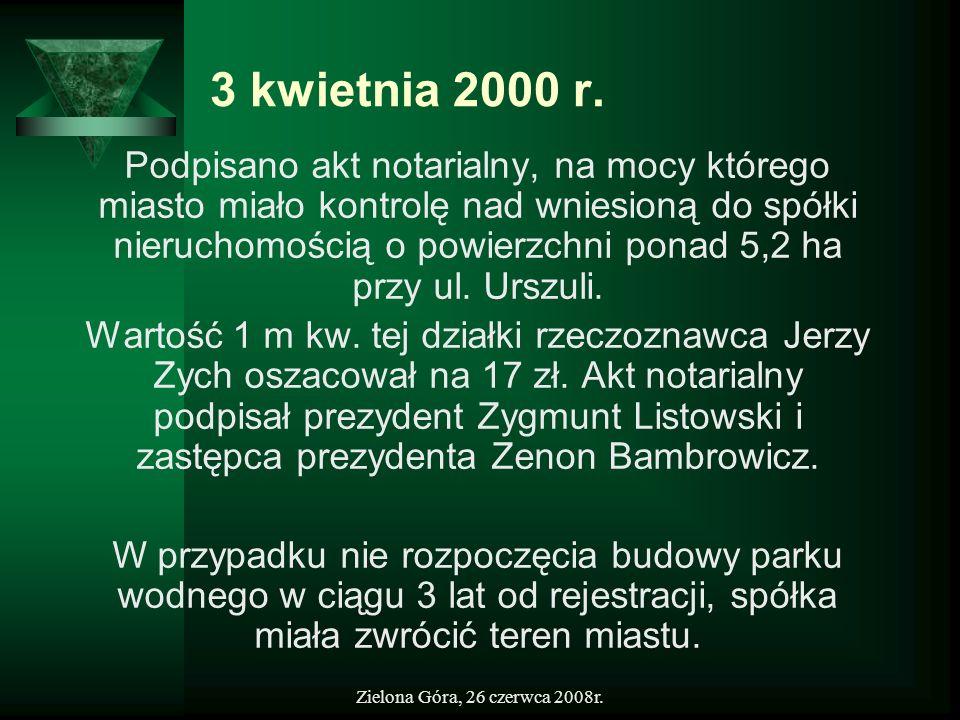 3 kwietnia 2000 r.