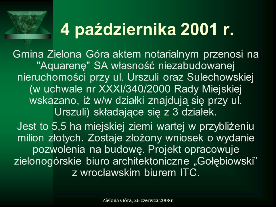 4 października 2001 r.