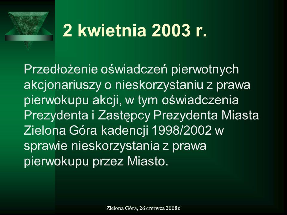 2 kwietnia 2003 r.