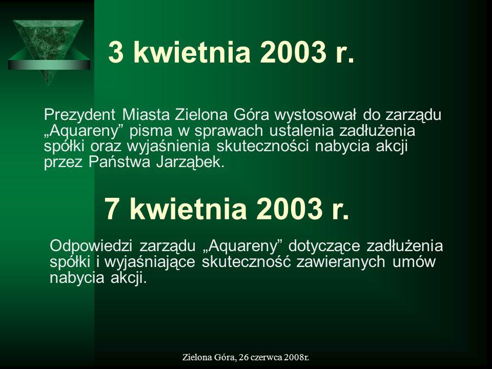 3 kwietnia 2003 r.