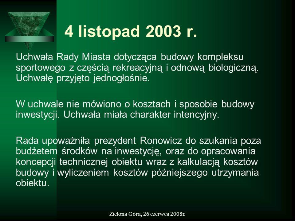 4 listopad 2003 r.
