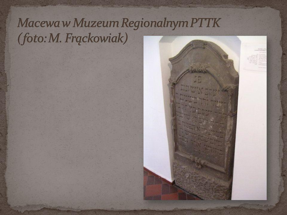 Macewa w Muzeum Regionalnym PTTK (foto: M. Frąckowiak)